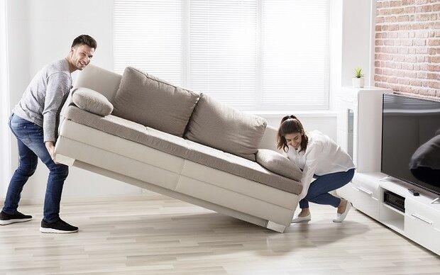 Die erste gemeinsame Wohnung: So sorgen Sie für Privatsphäre auf kleinem Raum.
