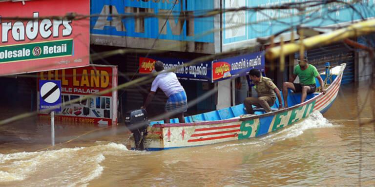 Jahrhundertflut: Hunderte Tote in Indien