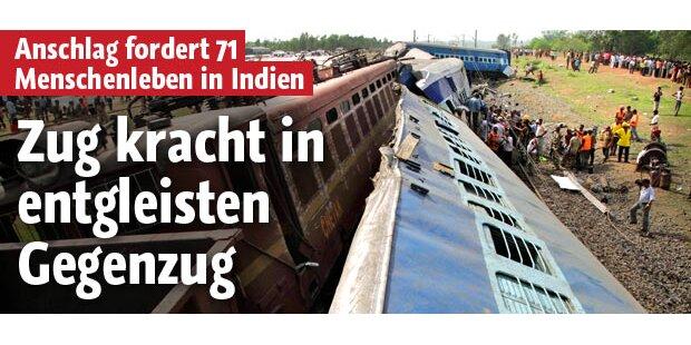 71 Tote bei Maoisten-Angriff auf Zug