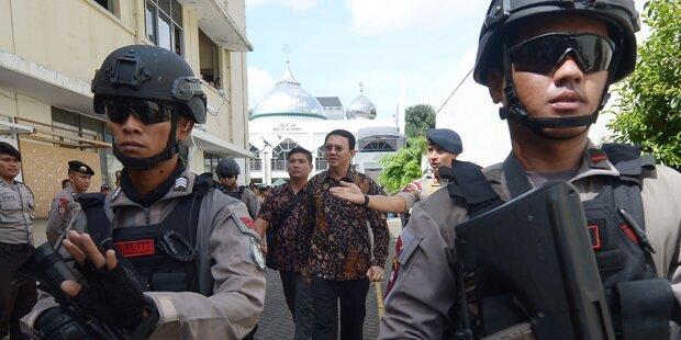 Polizei tötete drei mutmaßliche Terroristen