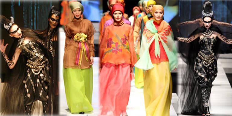 Indonesische Designer lieben Gegensätze