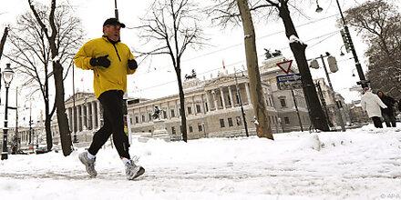 Sport bei Kälte schwächt Immunsystem