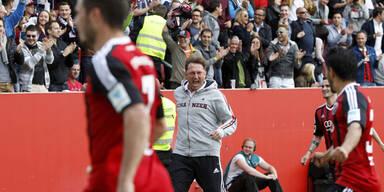 Hasenhüttl-Klub fixiert Aufstieg