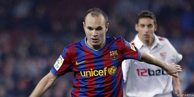 Iniesta fehlt Barcelona im CL-Halbfinale