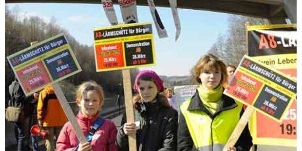 Anrainer blockieren Innkreisautobahn