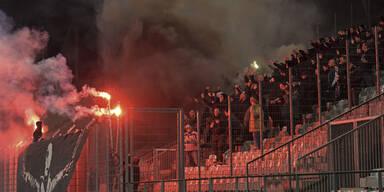 LASK-Fans sorgen für Pyro-Skandal