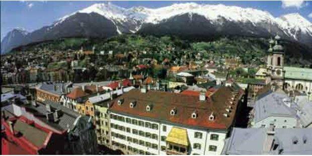 Wer in Tirol lebt, wohnt am teuersten