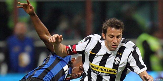 Inter nach 2:0 gegen Juve wieder Tabellenführer