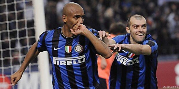 Inter Mailand kann mit Sieg gegen Bergamo vorlegen