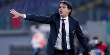 Lazio-Trainer Simone Inzaghi