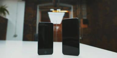 iPhone 6-Prototyp vs. iPhone 5s