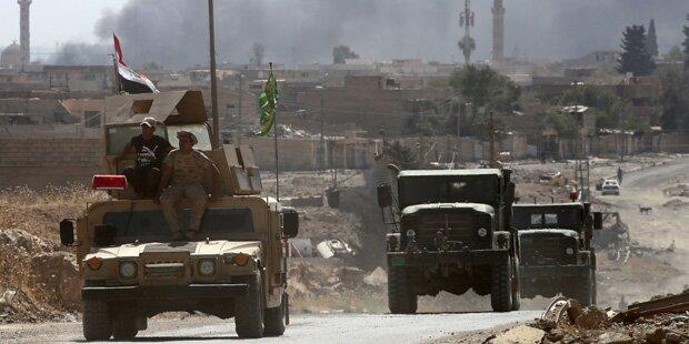 Offensive: Irakische Armee greift IS-Bastion an