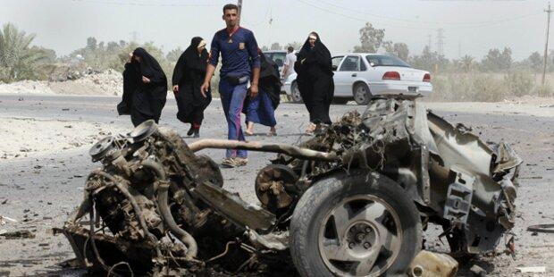 Anschlagsserie in irakischen Städten