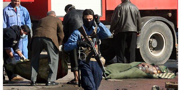 Irakische Truppen töten 30 Aufständische in Bagdad