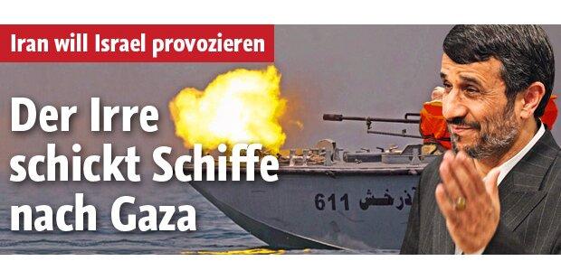 Iran schickt Hilfsschiffe nach Gaza
