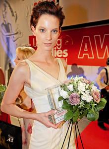 Iris Strubegger beim Leading Ladies Award