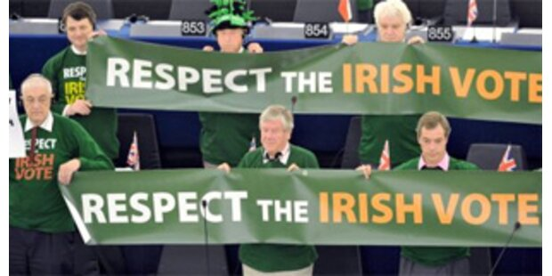 Zustimmung in Irland zum Lissabon-Vertrag wächst