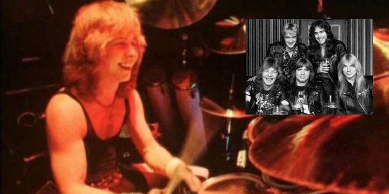 Iron Maiden trauert um Ex-Drummer Clive Burr