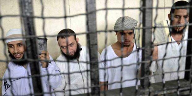 Todesurteil gegen 14 Islamisten in Ägypten