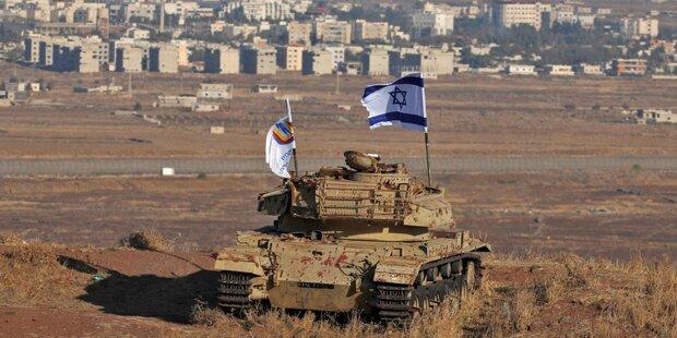 Israels Armee beschoss syrische Militärstellung