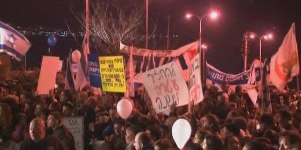 Proteste gegen religösen Fanatismus in Israel