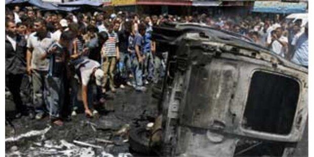 Palästinensische Polizisten retten israelischen Offizier vor Mob