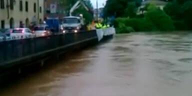 Italien: Ein Toter nach starken Regenfällen