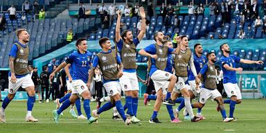 Das sind die unbesiegbaren Italiener