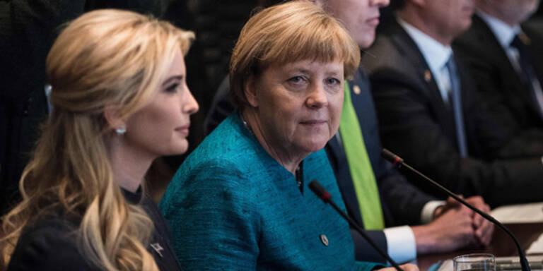 Ivanka Trump reist zu Merkel nach Berlin