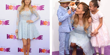 """Jennifer Lopez auf der """"Home"""" Filmpremeire"""