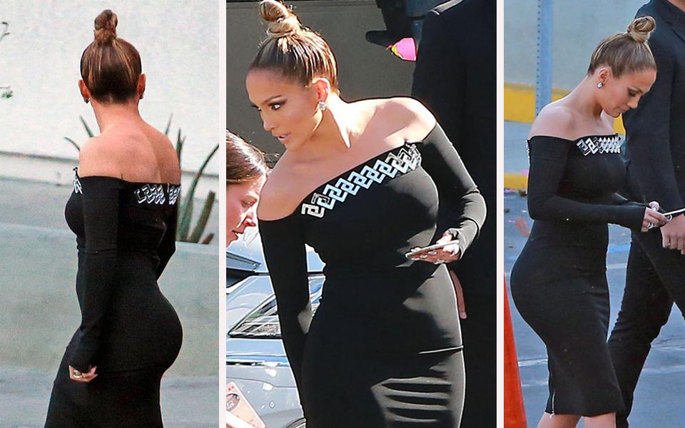 J.Lo im Billig-Look