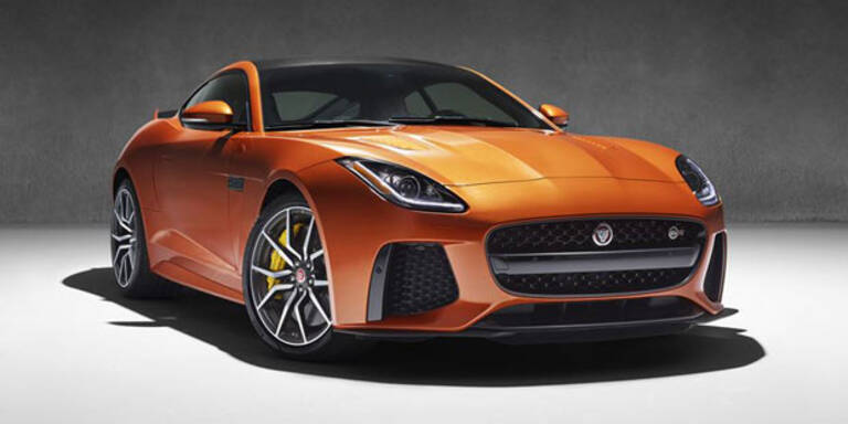 Jaguar bringt den F-Type SVR
