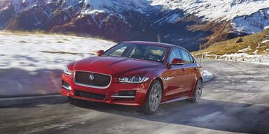 Jaguar XE Diesel startet mit Allrad