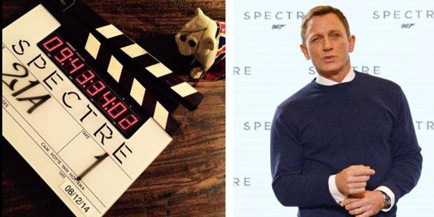 Erste Bilder vom James Bond Set!