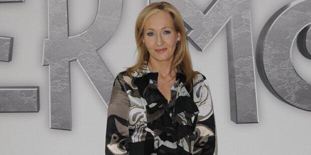 Rowlings Buch voller Geheimnisse ist da