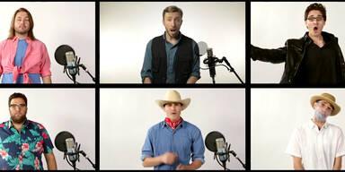 Jurassic Park Song als A cappella – Version