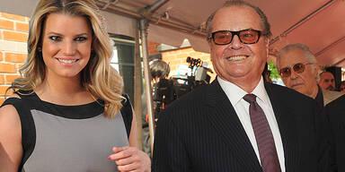 Jack Nicholson und Jessica Simpson