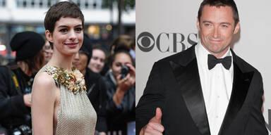 Hugh Jackman und Anne Hathaway