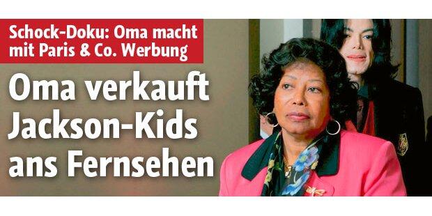 Oma verkauft die Jackson-Kids ans TV