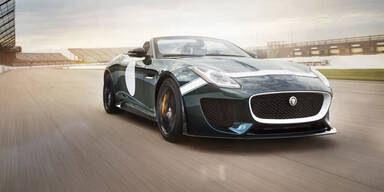 Jaguar bringt den F-Type Project 7