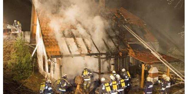 119 Florianis kämpften gegen Großfeuer