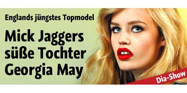 Rocker-Tochter und echtes Traum-Model