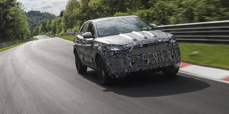 Jaguar E-Pace Prototypen im finalen Härtetest
