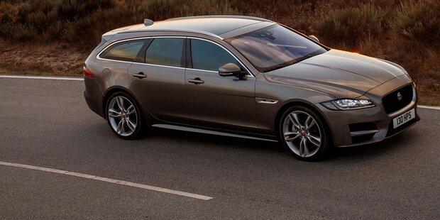 Neuer Jaguar XF Sportbrake im Test