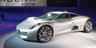 Jaguar C-X 75 wirt tatsächlich gebaut