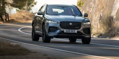 Großes Facelift für den Jaguar F-Pace