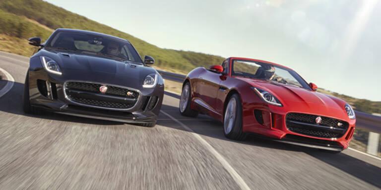 Jaguar bringt den F-Type mit Allrad