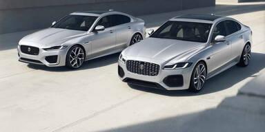 Jaguar XF und XE starten als R-Dynamic Black