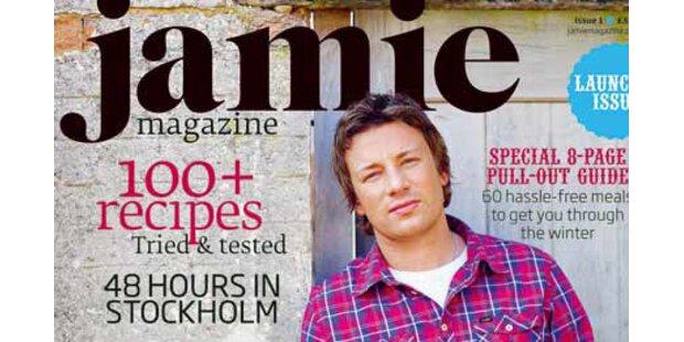 Jamie Oliver hat jetzt ein Magazin im Ofen