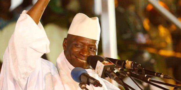 Gambia: Diktator Jammeh tritt nicht ab